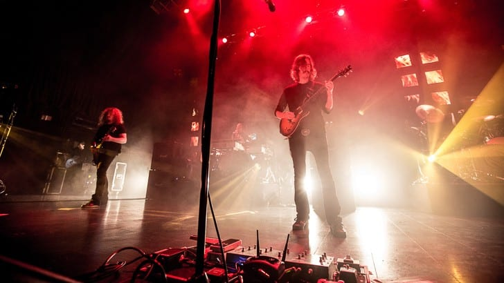 BOSTON MA - OCTOBER 2: Swedish death metal-now-prog metal band Opeth play in support of Sorceress, their latest release. Support by The Sword. Shot at House of Blues in Boston on October 2, 2016. Photo by Tim Bugbee / www.tinnitus-photography.com